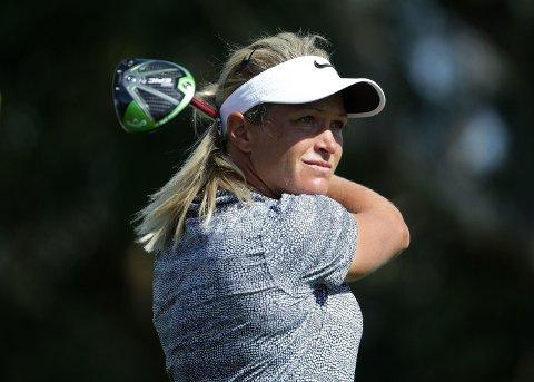 I TET: Suzann «Tutta» Pettersen er i tet halvveis ut i LPGA-turneringen i California.
