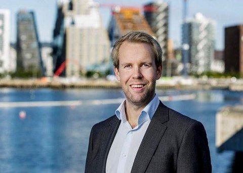 FORVENTER TRE PROSENT PRISVEKST I 2018: Christian Frengstad Bjerknes i NBBL.