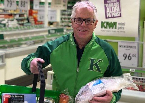 TAR AV: Kiwi-sjef Jan Paul Bjørkøy kan juble over høye salgstall.