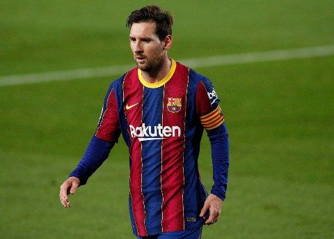 KOM MED UTTALESE: Lionel Messi svarer på kritikken som nylig har kommet mot ham.
