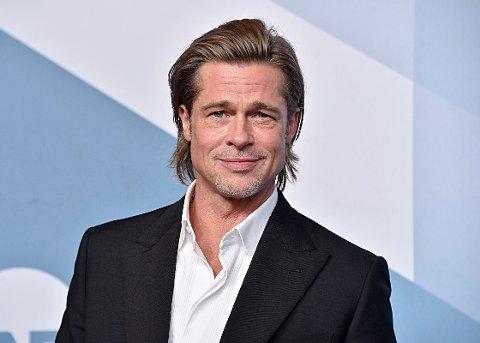 FÅR HØRE DET: Brad Pitt får mye kritikk på Twitter etter en tur til Belgia.