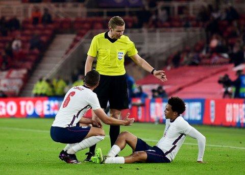 UT MED SKADE: England-spiller Trent Alexander-Arnold.
