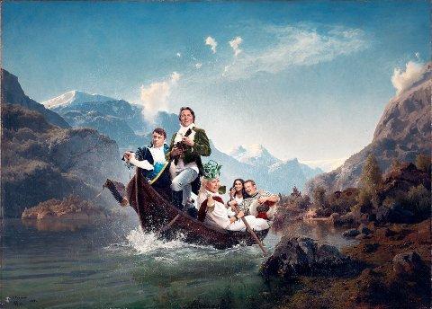 Torsdag 4. september er det urperemiere på humormusikalen Norsk Reisning på Riksteatret i Nydalen.