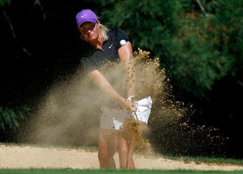 HEVET SEG: Golfproff Suzann Pettersen.