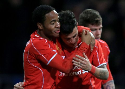 FÅR SKRYT: Liverpools Philippe Coutinho er i storform om dagen.