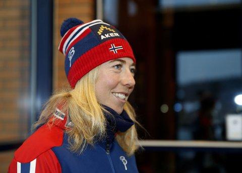 LEGGER OPP: Langrennsveteran Kristin Størmer Steira.