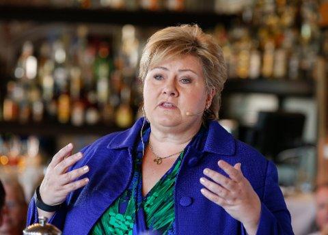 Statsminister Erna Solberg mener at det vil trenges mer penger for å kunne finansiere Oslopakke 3.