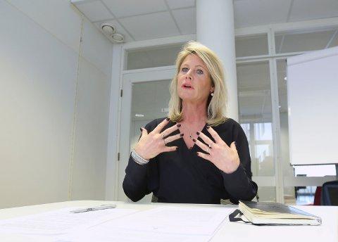 TIL RETTEN: Rektor Tine Widerøe ved Westerdals ACT sier skolen tilbyr 50 millioner kroner til tidligere studenter som har betalt for mye skolepenger. Det tilsvarer 60 prosent av det de har betalt for mye. Nå ender saken trolig i retten.
