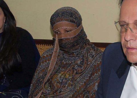 Pakistanske Asia Bibi i 2010, som nå er frikjent for blasfemi.