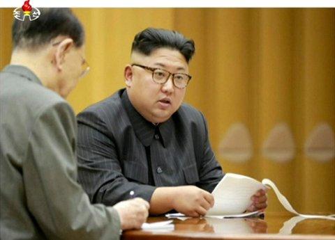 Den japanske rikskringkasteren NHK advarte om at Nord-Koreas leder Kim Jong-un hadde skutt ut en rakett i retning Japan, men trakk den falske alarmen etter rundt ti minutter.