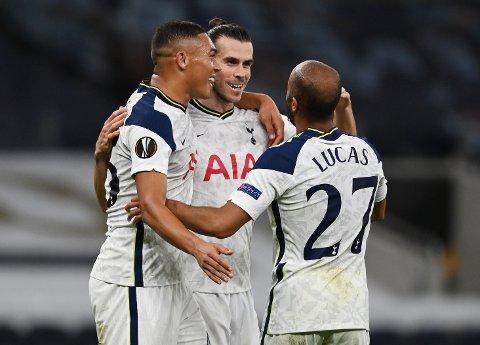 SEIER: Gareth Bale og Lucas Moura var begge sentrale for Spurs.