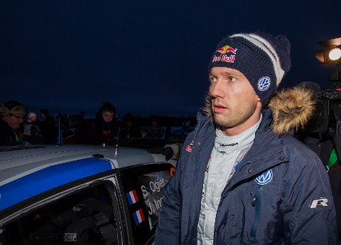 Sebastien Ogier er på vei mot en ny VM-tittel etter at lagkameraten Elfyn Evans kjørte ut i Rally Monza. Foto: Micke Fransson / NTB