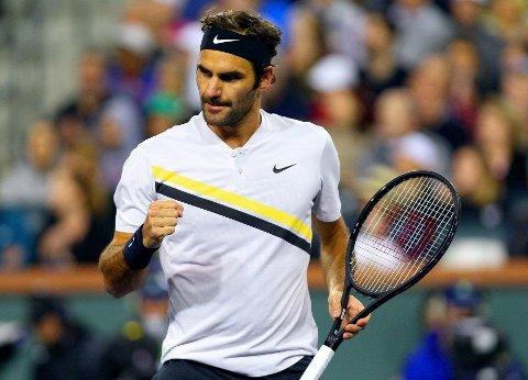 I GODT DRIV: Verdensener Roger Federer.
