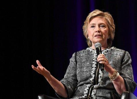 DYR DAME: Hillary Clinton er en av de heteste talerne, og Handelshøyskolen BI kan forvente seg en stor del av oppmerksomheten på kvinnedagen.