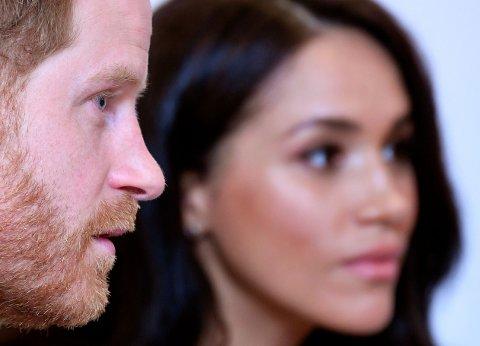 UTFORDRENDE: Etter at koronasmitten brøt ut i hele verden har prins Harry fulgt restriksjonene nøye og tilbragt mye tid sammen med kona Meghan og deres felles sønn Archie. Det kan også være utfordrende til tider.