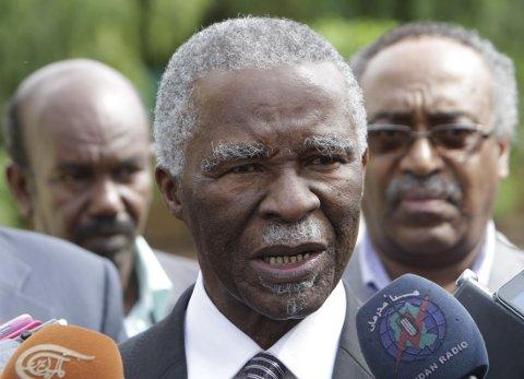 FORKLARER: Thabo Mbeki.