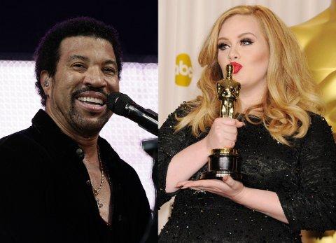NYTT ALBUM: Adele har sluppet nytt album, og den ene sangen får hele fanskaren til å snakke om Lionel Richie. Foto: Getty Images