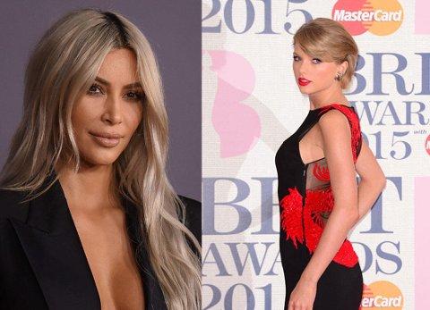 Dramatikken mellom Kim Kardashian og Taylor Swift er langt fra over