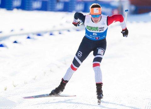 VAN: Lotta Udnes Weng tok NM-gull i sprint.