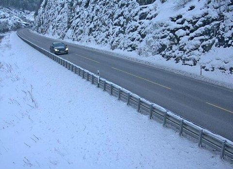 KALD KOMMUNE: Sel kommune i Innlandet var kaldest i Norge i januar; 21 minusgrader i snitt.