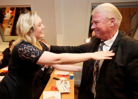 VANT: Bystyrepolitiker Aina Stenersen i Oslo ofret seg for tidligere Frp-formann Carl I. Hagen for fire år siden, men lørdag gikk hun seirende ut av voteringen mot Hagen om plass på Oslo Frps stortingsliste.