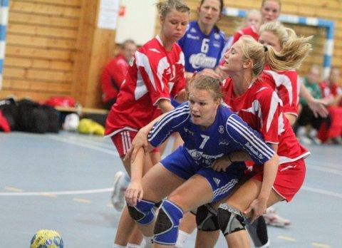 Rutinert: Hanne Kvalheim var en av få rutinerte Oppsal-spillere i helgens Follo Cup.