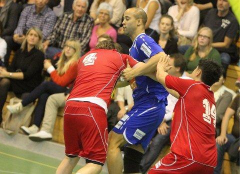 REpresenterer USA: BSK/NIF-spilleren Martin Clemons Axelsson spiller på landslaget til USA. foto: Arild Jacobsen