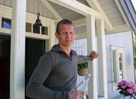 SKILLES: Frank Løke og kona Anette går fra hverandre etter 15 års ekteskap.