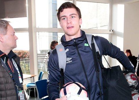 VAR AKTUELL FOR STORKLUBB: Ungarske Pick Szeged skal ha gjort et framstøt mot Alexander Blonz, uten at det resulterte i en overgang.