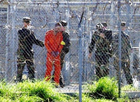 USAs president Barack Obama sier at torturen som ble brukt mot al-Qaida-fangene, strider imot USAs verdier. Her fra fangeleiren på Guantanamo Bay.
