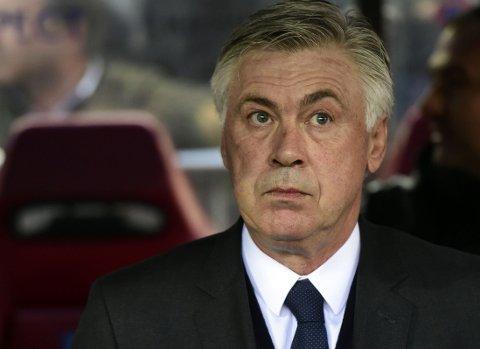 FÅR KJEFT: Real Madrid-trener Carlo Ancelotti.