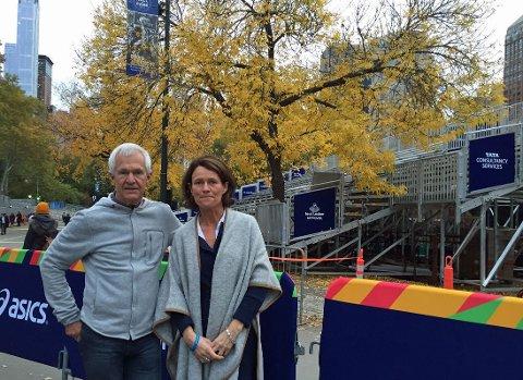 DENNE UKA har Jack Waitz og Helle Aanesen fra Aktiv mot kreft besøkt sykehuset Memorial Sloan Kettering Cancer Centre i New York, som forsker på hvilken effekt fysisk aktivitet har på kreftceller.