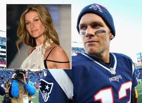FOKUSERT: Kona GIsele Bündchen fant Tom Brady sittende oppe midt på natten for å gjøre videoanalyser.