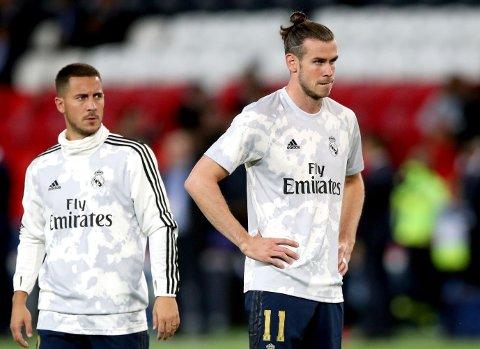 SKILLER LAG? Eden Hazard (til venstre) har snart et halvt år bak seg i Real Madrid. Gareth Bale fortsetter å bli koblet bort fra samme klubb.