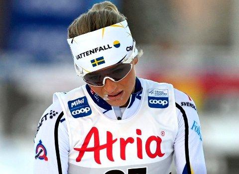 SLITER: Svenske Frida Karlsson taper terreng i Tour de Ski.