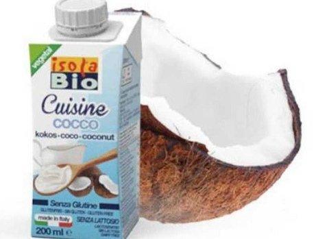 Norganic AS trekker tilbake det økologiske, veganske produktet IsolaBio Cuisine Cocco fra Italia. Årsaken er at det er funnet etylenoksid i tilsetningsstoffet guarkjernemel