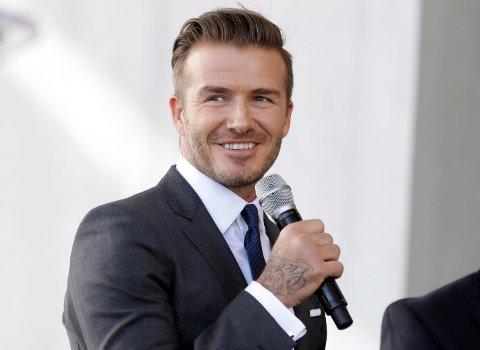 NYTT MLS-LAG: David Beckhams nye storsatsing ble bekreftet mandag.