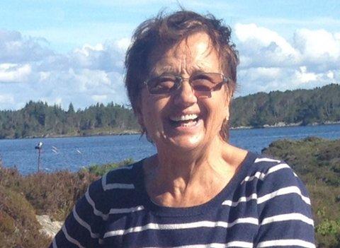 Politiet etterlyser 74 år gamle Else Margrethe Clausen. Bildet er publisert i samråd med familien.