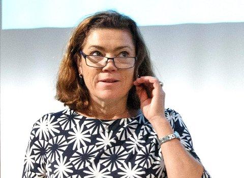 NHO: NHO-sjef Kristin Skogen Lund sier at mange nå er usikre på hvordan nye selskaper som Uber og Airbnb skal håndteres.