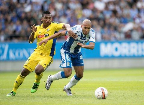 ITALIA-PROFF? Haitam Aleesami (til høyre) forlater angivelig IFK Göteborg for å fortsette karrieren i Italia.