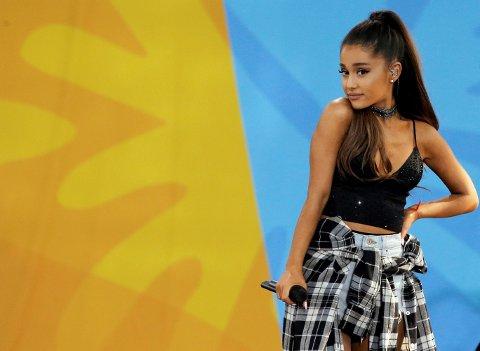Ariana Grandes mor var til stede under konserten i Manchester.
