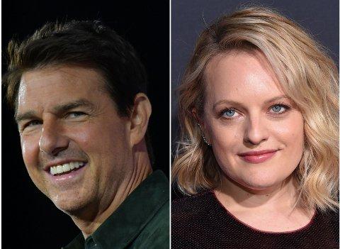 ROMANSERYKTER: I åresvis har utelandske tabloidaviser forsøkt å koble Tom Cruise med Elisabeth Moss.