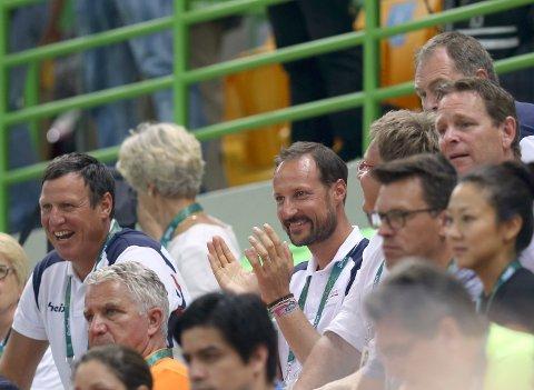 Kronprins Haakon var på plass under OL i Rio de Janeiro. Foto: Vidar Ruud / NTB