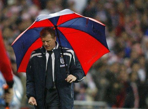 WEMBLEY-REVANSJE: Steve McClaren kan lørdag sikre opprykk med Derby. I 2007 var han landslagstrener for England da man tapte mot Kroatia hjemme på Wembley og gikk glipp av det påfølgende EM.