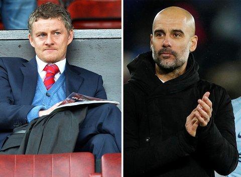 PARALLELLER: Manchester Citys suksessmanager Pep Guardiola forstår tankegangen bak Manchester Uniteds ansettelse av Ole Gunnar Solskjær.