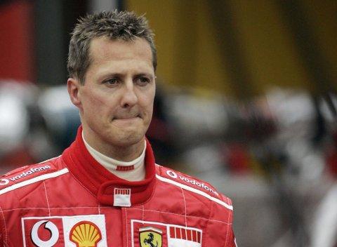LITE INFORMASJON: Få vet hvordan det går med Formel 1-legenden Michael Schumacher, som skadet seg alvorlig i en skiulykke i 2013.