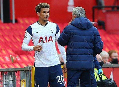 SNAKKET SAMMEN: Dele Alli og Jose Mourinho har hatt møte etter overgangsvinduet.