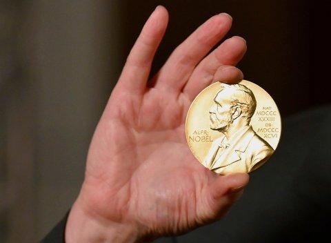 Illustrasjonsfoto av nobelmedalje: Angela Weiss / Pool / AP / NTB