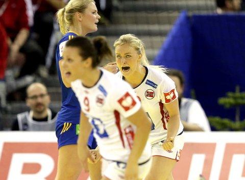 STORSPILL: Stine Bredal Oftedal har vært god for Norge i EM.