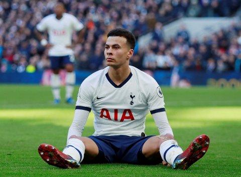 INGEN MÅL FOR ALLI: Tottenham og Dele Alli fortsetter å slite uten Son og Kane.